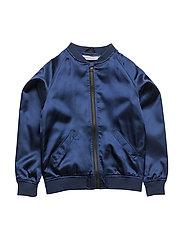 Bomber jacket Flamingon single-animal marine - BLUE MARINE
