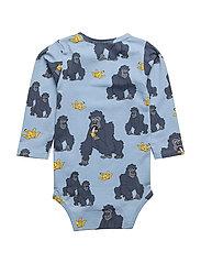 Baby Body Gorillan multi-animal blue
