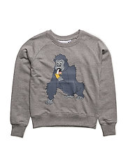 Sweatshirt Gorillan single-animal grey - GREY
