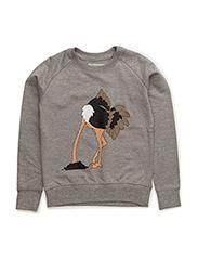 Sweatshirt Strutsen - GREY