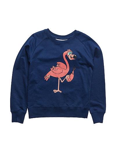 Tao & friends Sweatshirt Flamingon single-animal marine