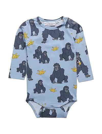 Tao & friends Baby Body Gorillan multi-animal blue