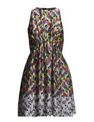 DRESS 2401-R3036 - ORANGE