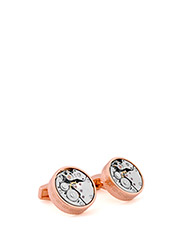 Tateossian Skeleton Cufflinks - ROSE GOLD COLOUR