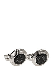 Tateossian Compass Cufflinks - BLACK