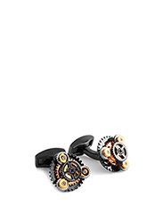 Tateossian Gear Rotondo Cufflinks - MULTICOLOUR