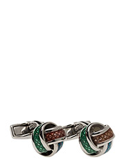 Tateossian Multicolour Knot Cufflinks - MULTICOLOUR