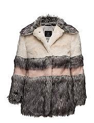 Patchwork Fur - Whistler PX - SOFT PINK