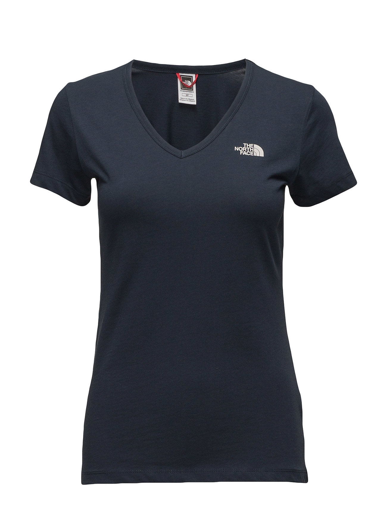 W Ss Simple Dome Tee The North Face Løbe t-shirts til Damer i