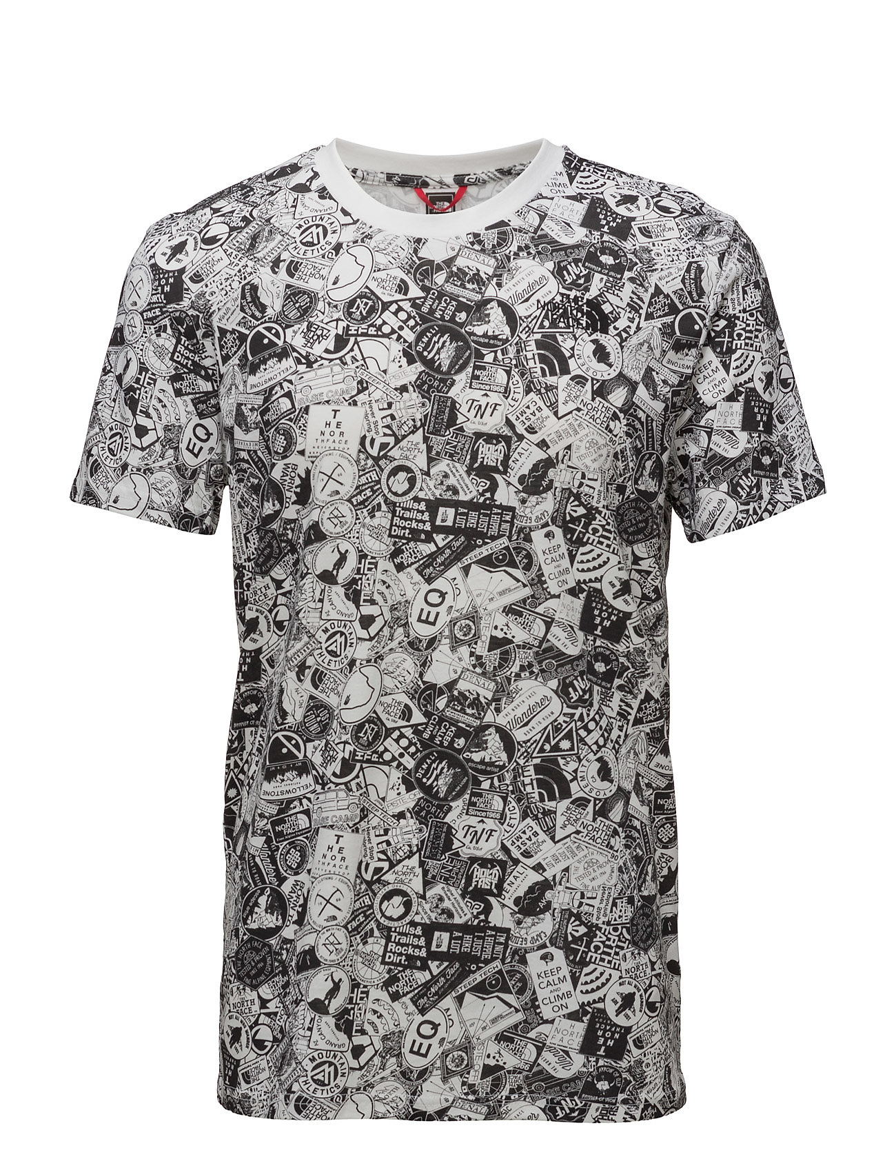 M Ss Simple Dome Tee The North Face Løbe t-shirts til Herrer i