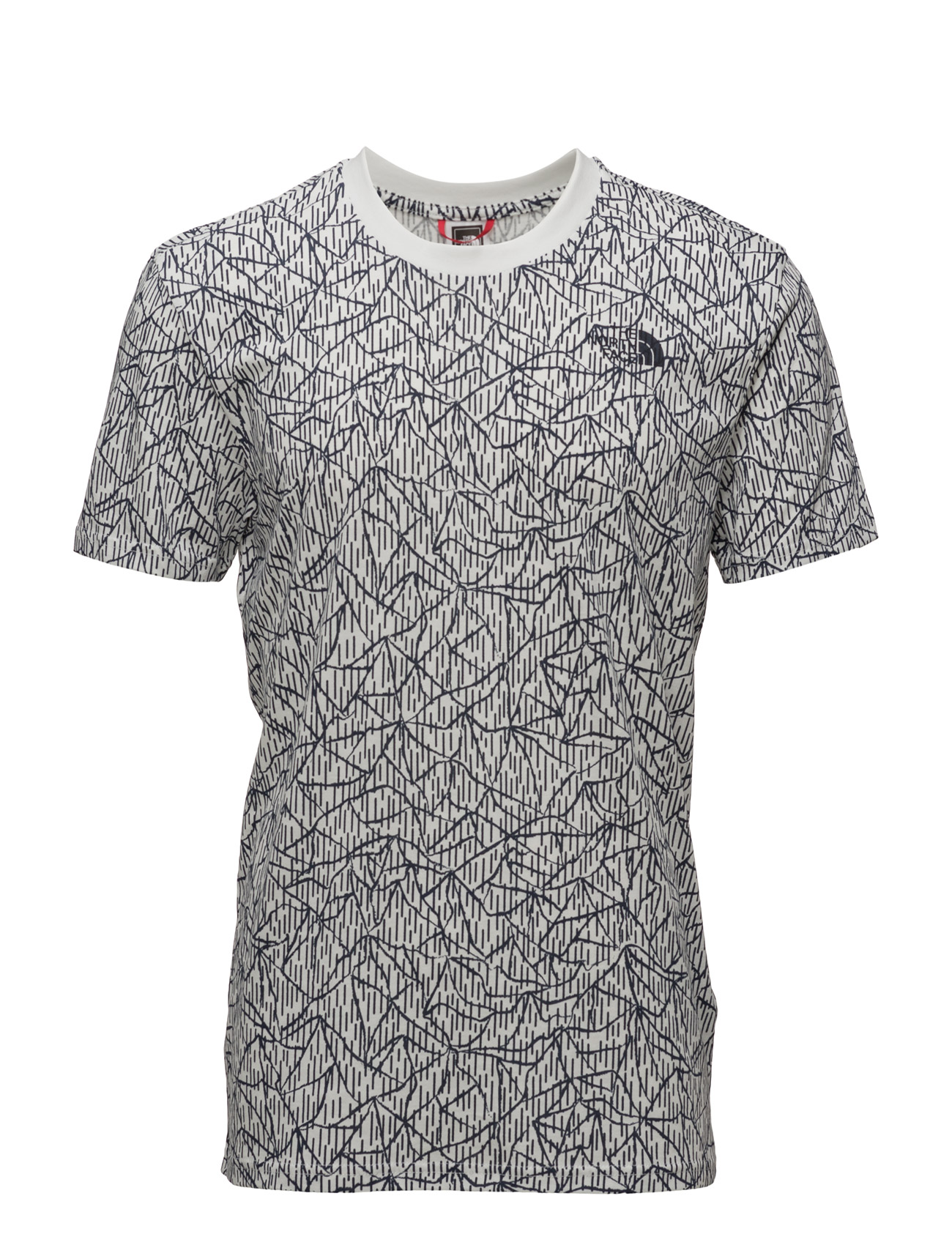 M Ss Simple Dome Tee The North Face Sports toppe til Mænd i