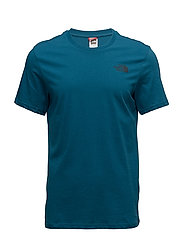 M SS SIMPLE DOME TEE - BLUE CORAL