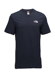 M SS SIMPLE DOME TEE - URBAN NAVY/TNF WHITE