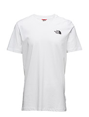 M SS SIMPLE DOME TEE - TNF WHITE