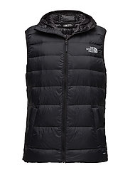 M WEST PEAK DOWN VST - TNF BLACK