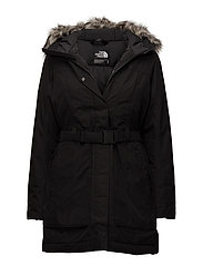 W BROOKLIN PARKA 2 - TNF BLACK