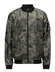 M MEAFORD BOMBER - ENGLISH GREEN CAMO PRINT