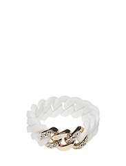 Crystal Classic20mm - WHITE / SOFT GOLD