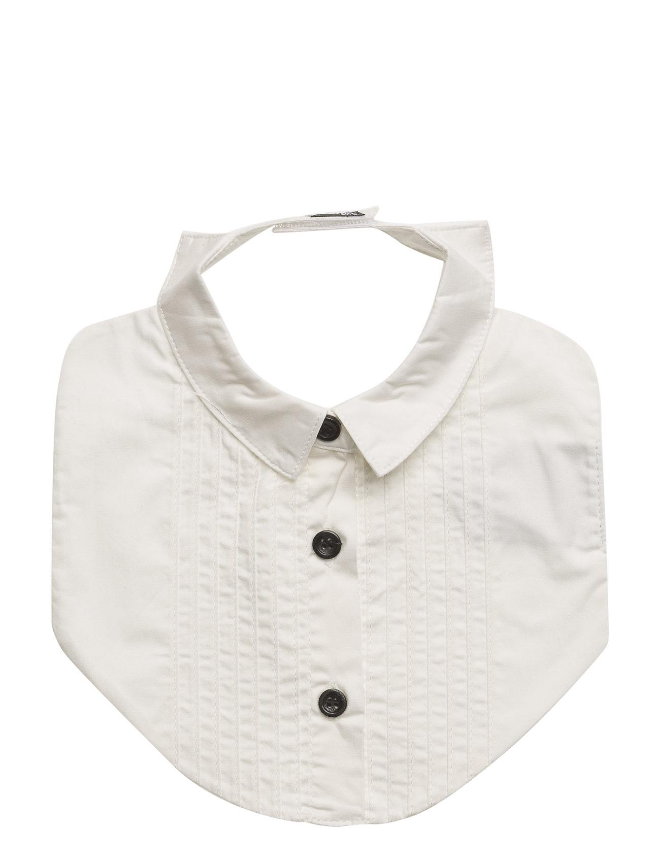 The Tiny Bib/Shirt The Tiny Universe Hagesmække til Børn i hvid