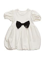Switch Dress Off-White Medium Ribbon - ALL BLACK