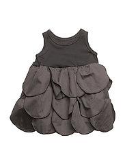 The Tiny Circles/ Dress - ALL BLACK
