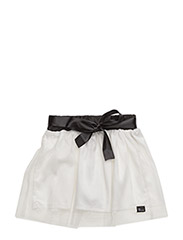 The Tiny Skirt/Silk Ribbon - OFF-WHITE