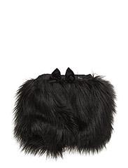 The Tiny Skirt/Fur - BLACK