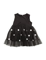Star Struck Dress - BLACK & WHITE