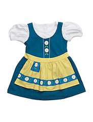 The Tiny Swede Girl - YELLOW/BLUE