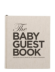 The Baby Guest Book SW - SWEDISH
