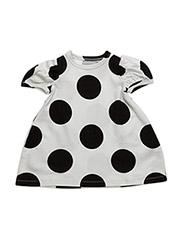 The Tiny Dot/Huge Black Dots - WHITE/BLACK