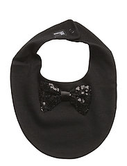 The Tiny Bib/Bow-Tie - BLACK