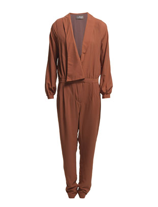 Liddi Jumpsuit - Fudge