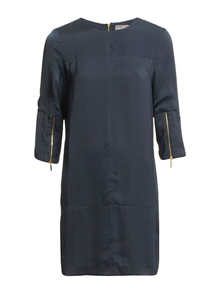 The Wardrobe Lynn Dress - Navy