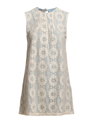 Noisette Dress - Light Blue
