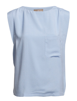 The Wardrobe Insuline Spring Top - Light blue