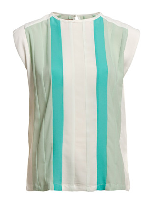 The Wardrobe Narda Block Top - Mint