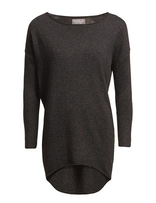 Pensana Knit Blouse - Dark Grey