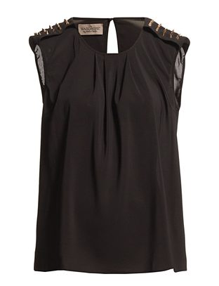 The Wardrobe Panille Top - Black