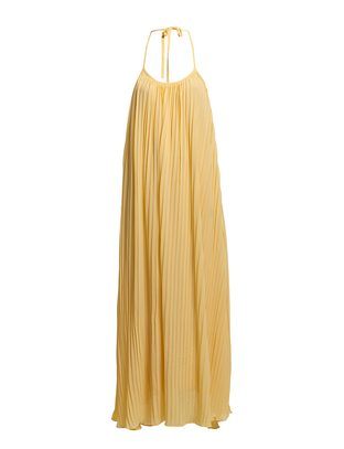 The Wardrobe Paper Maxi Dress - Yellow