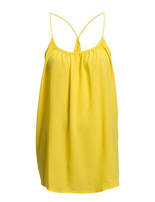 The Wardrobe Omana top - Yellow