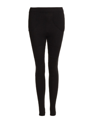 The Wardrobe Vega Knit Pants - Black