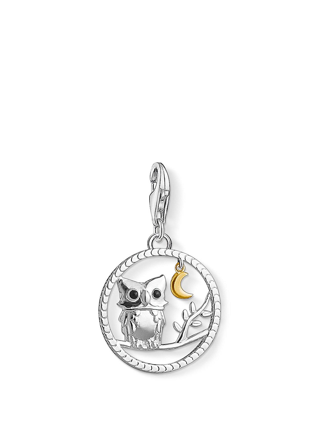 Charm Pendant  Night Owl Thomas Sabo Smykker til Damer i Sort