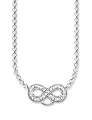 Charm necklace - WHITE