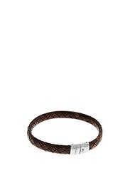 Thompson Intrecciato Bracelet - BROWN