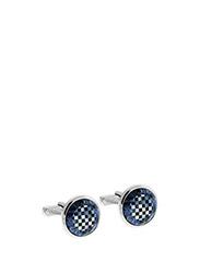 Thompson Mosaic Cufflinks - BLUE