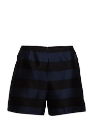 WOVEN SHORT - BLACK/NAVY MULTI