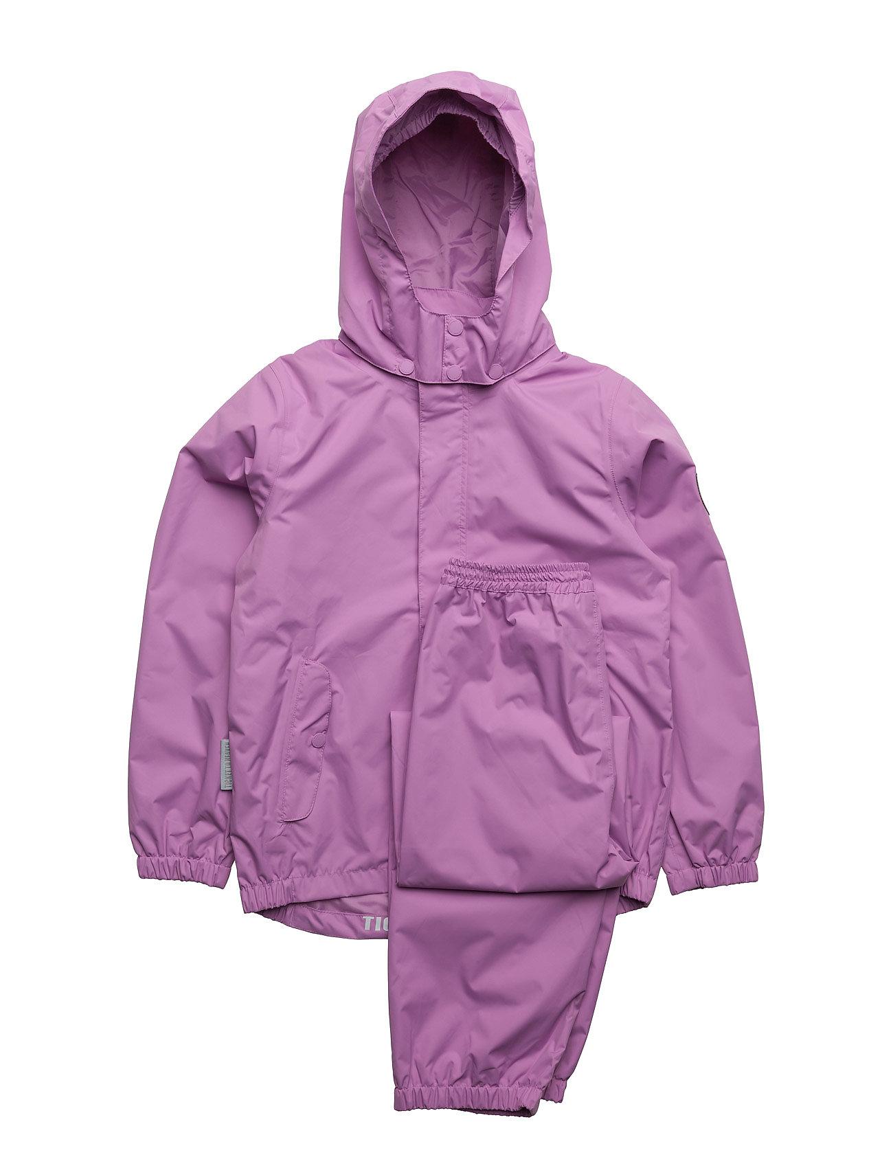 Rain Set 2pcs Plain With Detachable Hood Ticket to Heaven Fleece