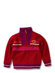 Herdis windbreaker - Crimson