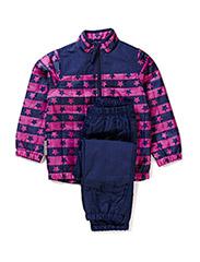 Thermo set - Pink/blue stripe/star